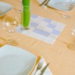 Colores vivos en la mesa